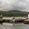 Leaving the Caledonian Canal