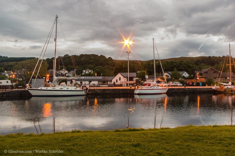 Caledonian Canal in Corpach