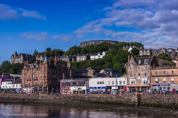 City of Oban and McCraig's Tower