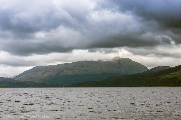 Shoreline of Loch Linnhe