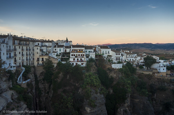 Sunset over Ronda