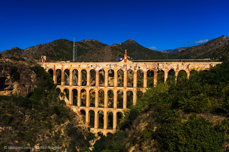 The aqueduct of Vélez-Málaga