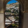 View of Granada from the Torre de las Damas