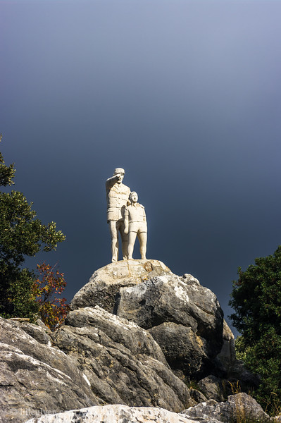 Statue of the forrest ranger