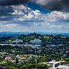 One Tree Hill seen from Mount Eden