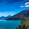 Lake Wakatipu and Mount Creighton