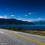 Road to Wanaka - The Neck and Lake Hawea