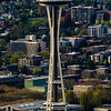 Space Needle from the Sky View Observatory