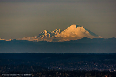 Mount Baker Northeast of Seattle's Sky Observatory