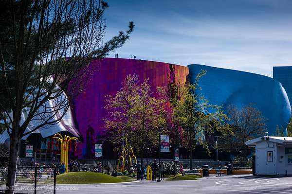 EMP/MoPop Museum in Lower Queen Anne, Seattle