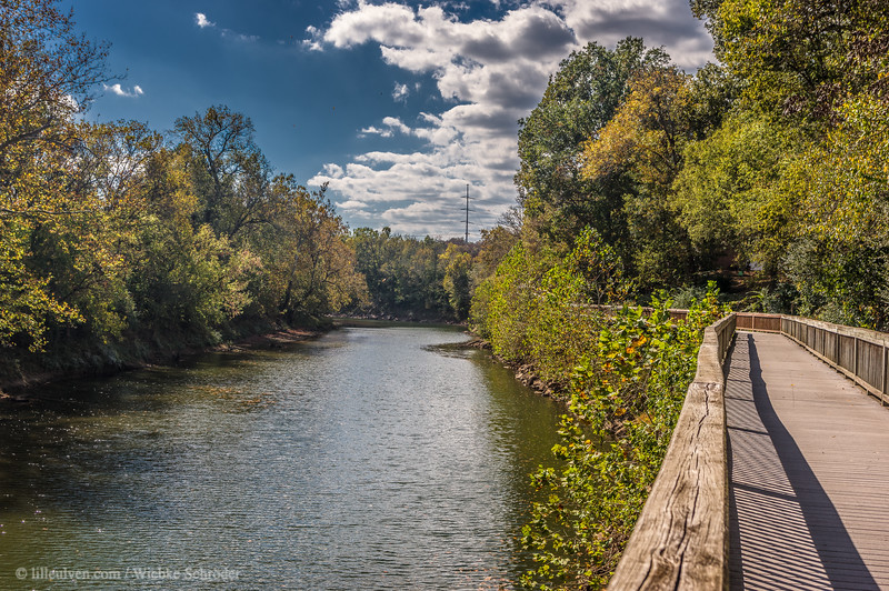 Stones River from Stones River Greenway, Nashville (HDR)