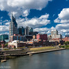 Downtown Nashville and the Cumberland River