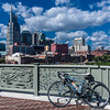 Downtown Nashville from the John Seigenthaler Pedestrian Bridge