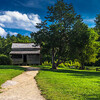 Historical Farmhouse at Cades Cove
