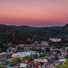Sunset over Gatlinburg