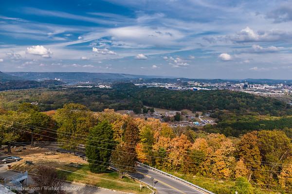 Chattanooga from Lookout Mountain