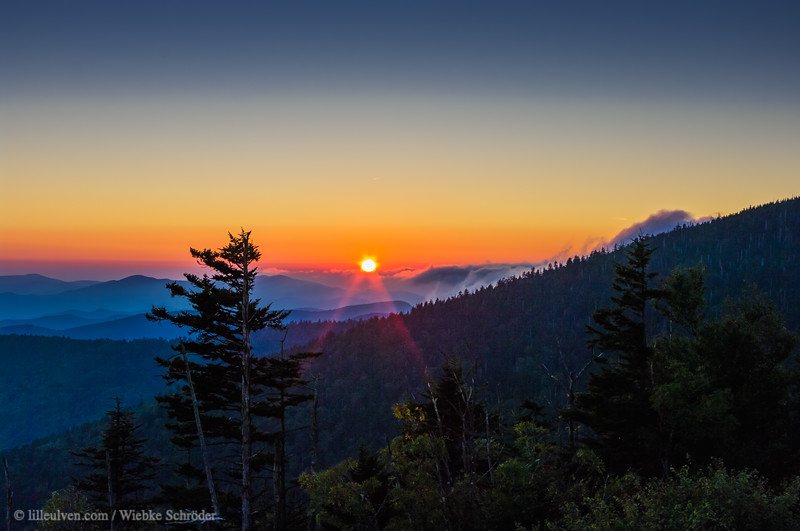 Clingmans Dome Sunset