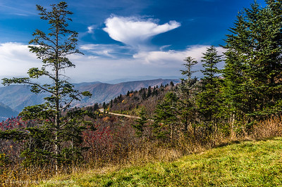 Waterrock Knob Visitor Center, Blue Ridge Parkway
