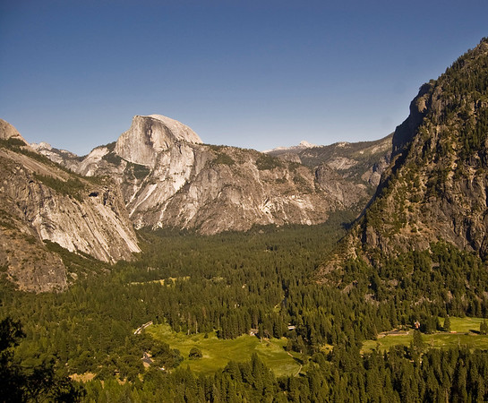 HalfDome in Yosemite Valley