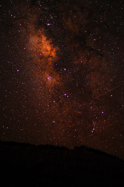 Red Milky Way
