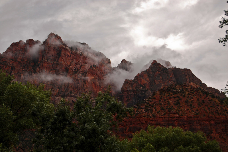 Clearing Storm in Zion