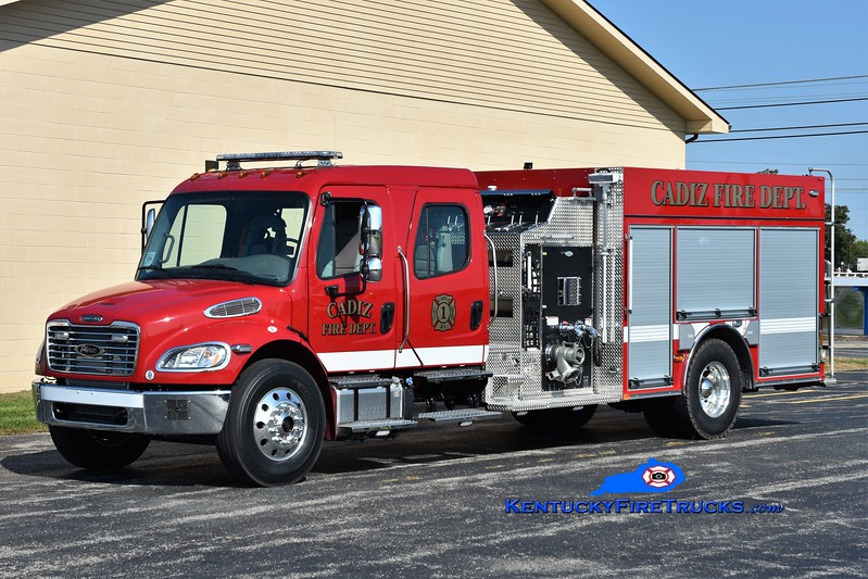 Cadiz  Engine 1<br /> 2017 Freightliner M2-106/Pierce 1250/1000<br /> Greg Stapleton photo