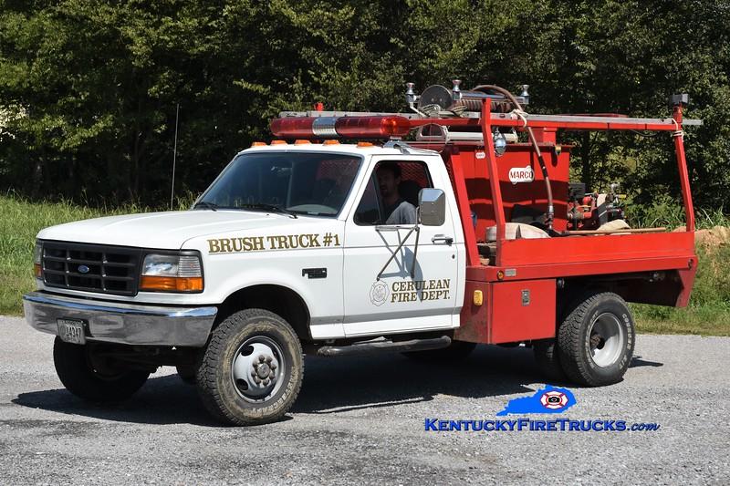 Caledonia  Brush Truck 1<br /> 1997 Ford F-350 4x4/Marco 250/250<br /> Greg Stapleton photo