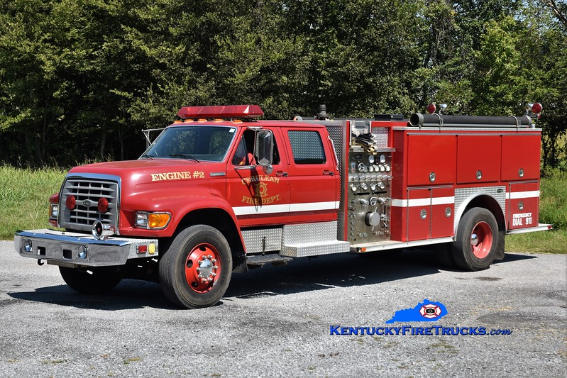 Caledonia  Engine 2<br /> 1995 Ford F-800/E-One 1250/1000<br /> Greg Stapleton photo