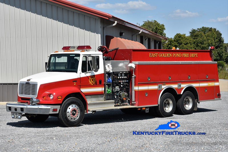 East Golden Pond  Tanker 2<br /> x-South Walton, FL<br /> 1998 Freightliner FL-112/KME 1000/3000<br /> Greg Stapleton photo
