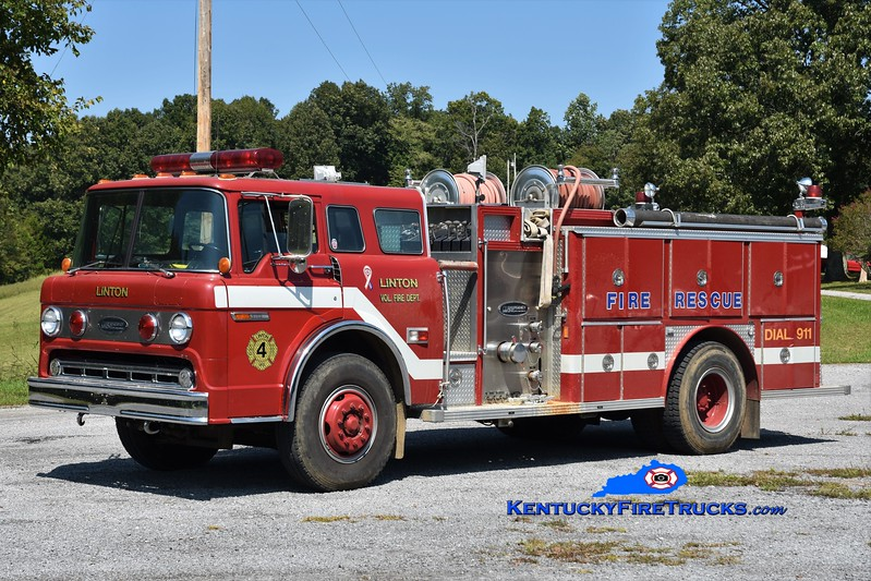 Linton  Engine 4<br /> 1984 Ford C-800/E-One 750/750<br /> Greg Stapleton photo