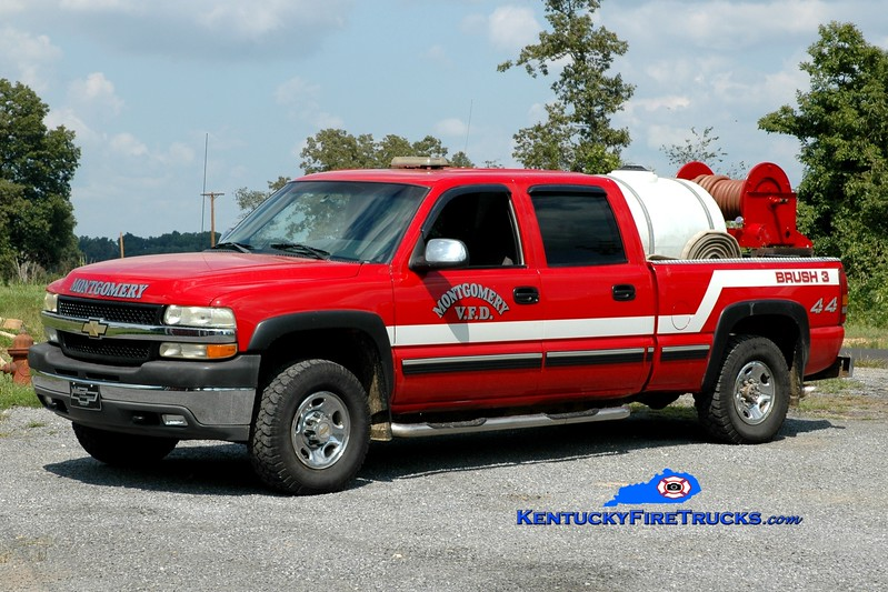<center> Montgomery  Brush 3 <br> 2002 Chevy 4x4/FD 250/225 <br> Greg Stapleton photo </center>