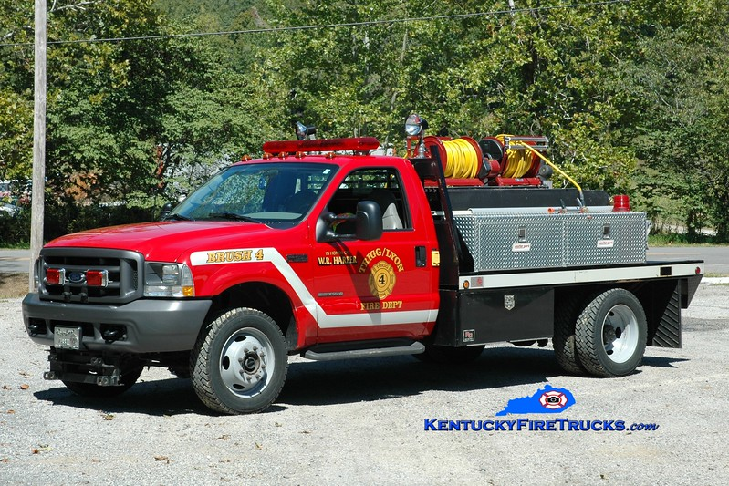 <center> Trigg-Lyon  Brush 4 <br> 2001 Ford F-450 4x4/Gerry's Automotive 250/300 <br> Greg Stapleton photo </center>