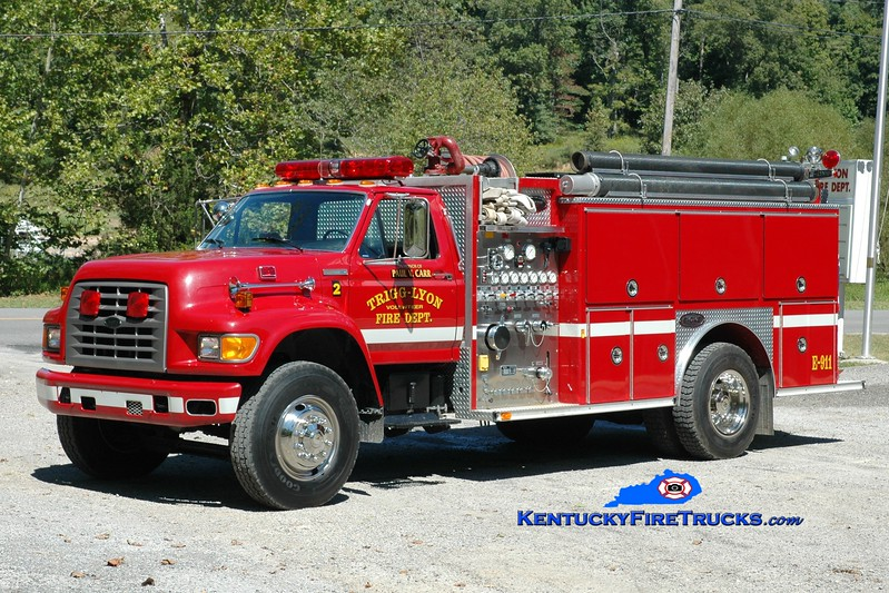 <center> Trigg-Lyon  Engine 2 <br> 1994 Ford F-700/E-One 1250/1000 <br> Greg Stapleton photo </center>