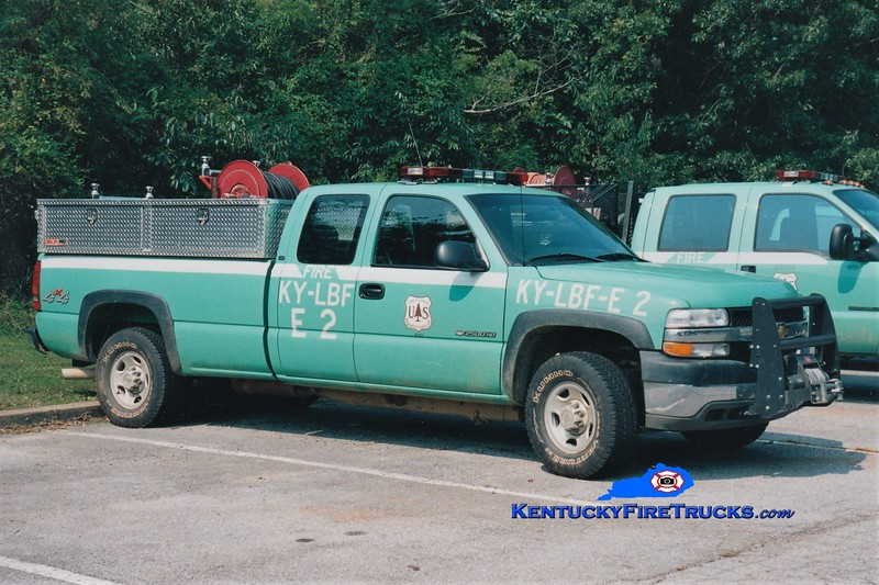 United States Forest Service - Land Between The Lakes  Engine 2<br /> 2001 Chevy 2500 4x4/USFS 150/250<br /> Greg Stapleton photo
