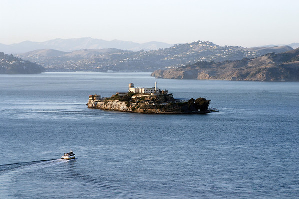 2005 - Boat to Alcatraz.