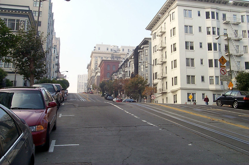 California Street, San Francisco, CA, USA