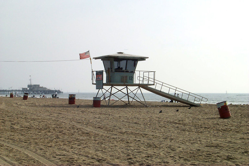 Santa Monica beach, CA, USA