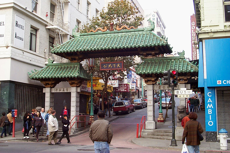 Chinatown gate, San Francisco, CA, USA
