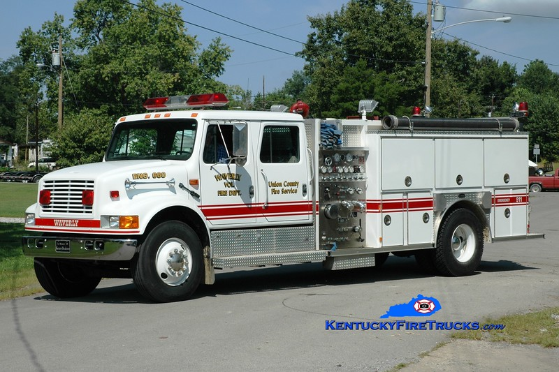 <center> Waverly  Engine 660 <br> 1993 International 4900/E-One 1250/1000 <br> Greg Stapleton photo </center>