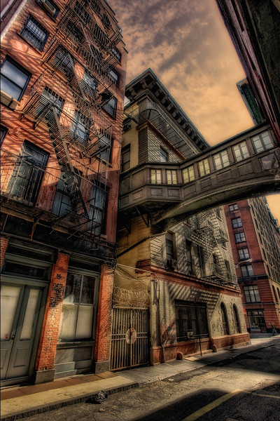 A Bridge in Tribeca