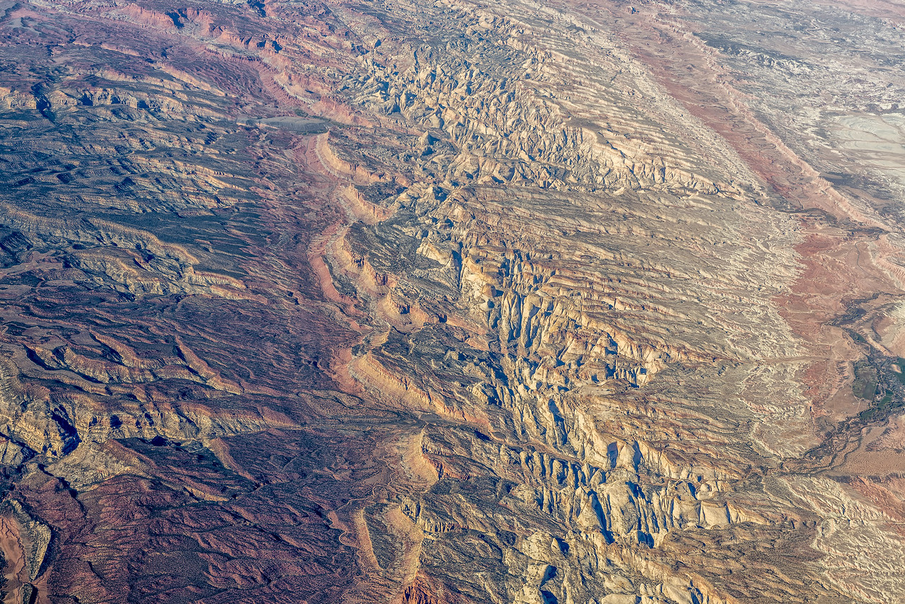 Somewhere Over Utah - 30,000 ft.