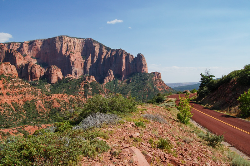 Kolob Canyon, Zion National Park, Utah<br /> best print size - 8x12 or 12x18