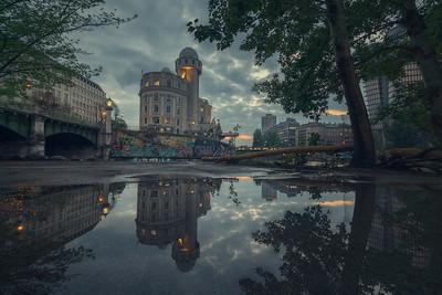 Donau puddles