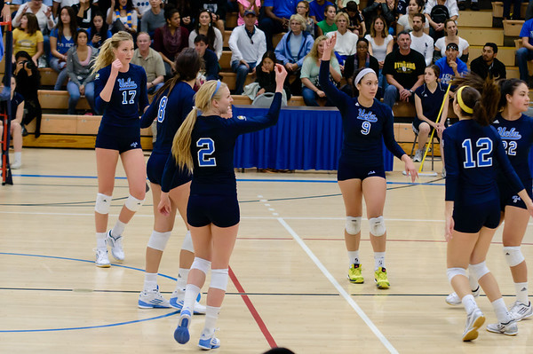 UCLA Women's Volleyball vs. Arizona @ Collins Court, Wooden Center