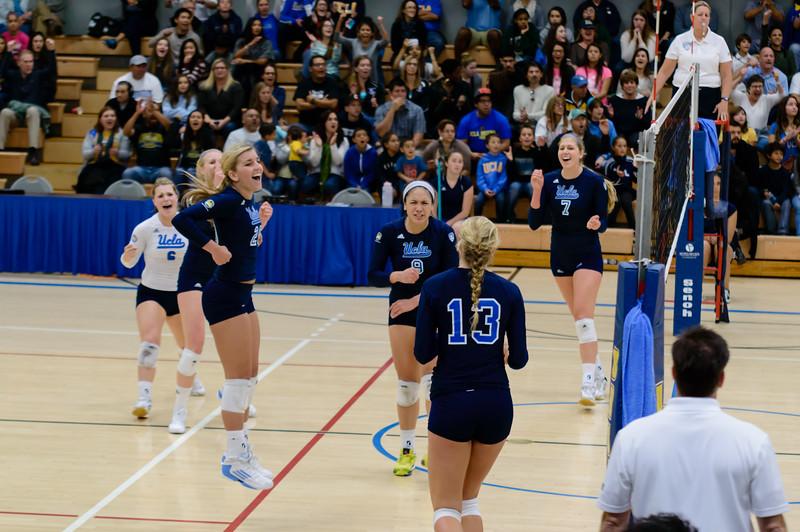 UCLA Women's Volleyball vs. Arizona @ Collins Court, Wooden Center