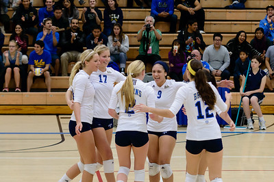 UCLA Women's Volleyball vs. Arizona State @ Collins Court, Wooden Center
