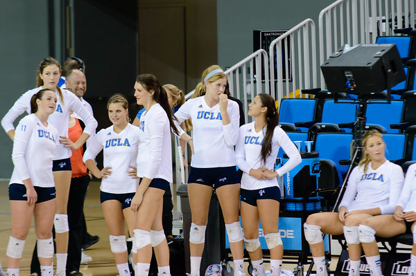 UCLA Women's Volleyball vs. Cal @ Pauley Pavilion