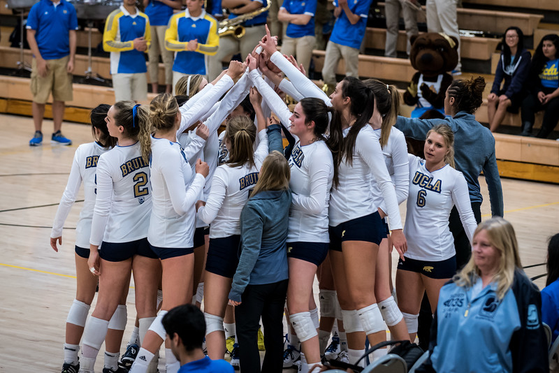 UCLA Women's Volleyball vs. Lipscomb @ Collins Court, Wooden Center