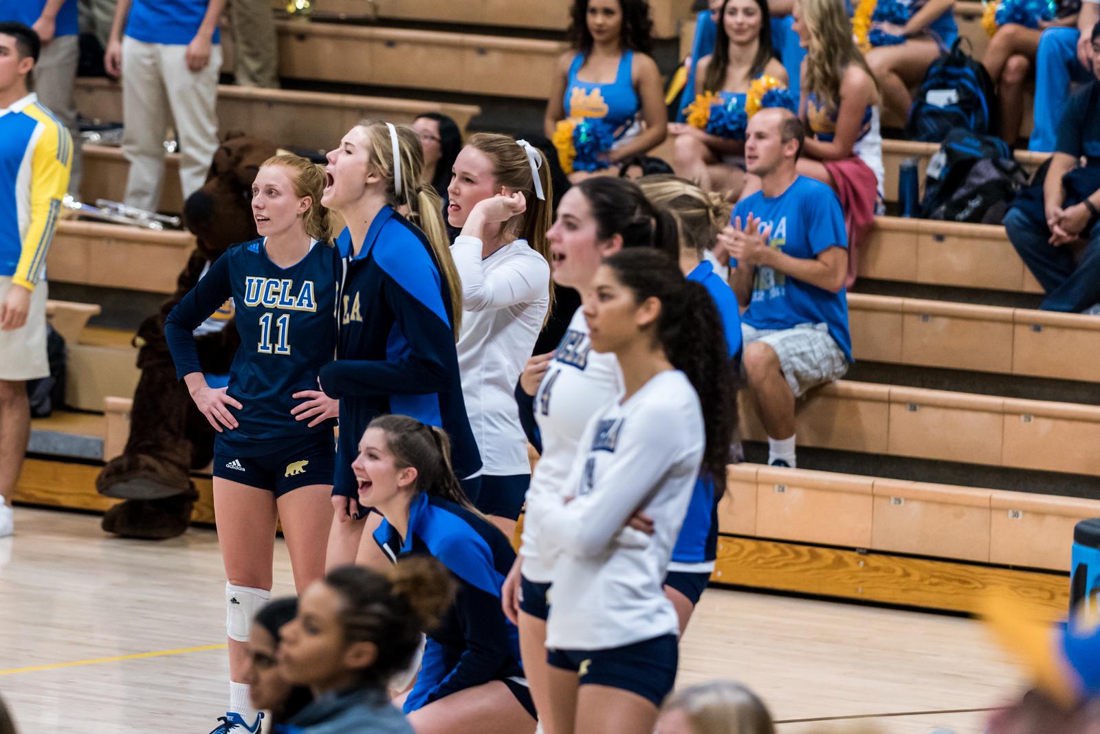 UCLA Women's Volleyball vs. Lipscomb @ Collins Court, Wooden Center