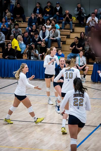 UCLA Women's Volleyball vs. Michigan @ Collins Court, Wooden Center